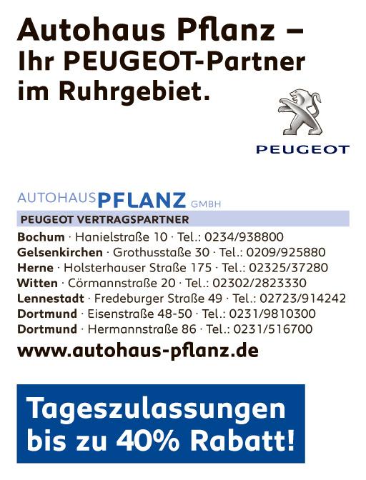 Autohaus Pflanz - PEUGOT