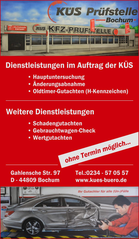 KÜS Prüfstelle Bochum