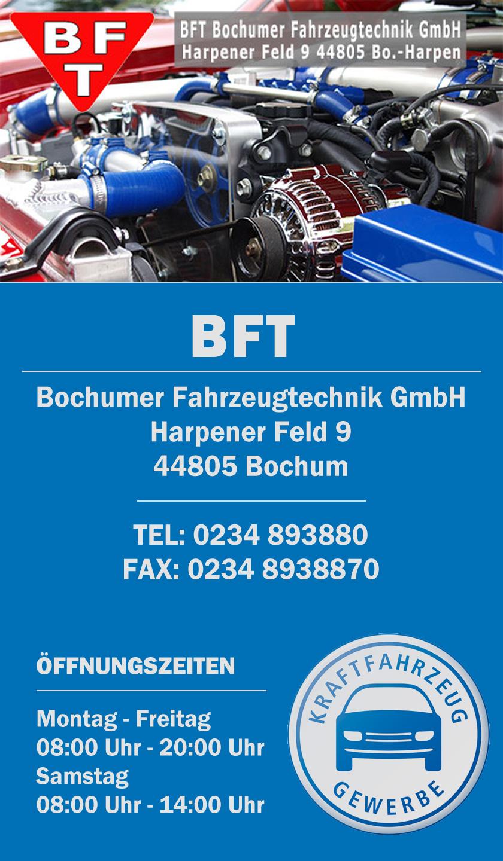 BFT Bochumer Fahrzeugtechnik